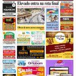 CONFIRA capa da última edição impressa do Jornal do Campeche